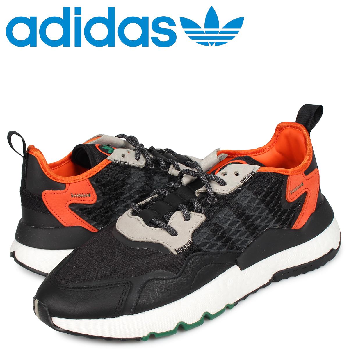 アディダス オリジナルス adidas Originals ナイト ジョガー スニーカー メンズ NITE JOGGER ブラック 黒 EE5549