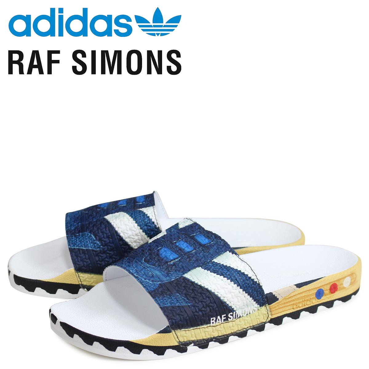 アディダス オリジナルス adidas Originals ラフシモンズ RAF SIMONS LA アディレッタ サンダル シャワーサンダル メンズ RS LA ADILETTE コラボ ネイビー EE7956