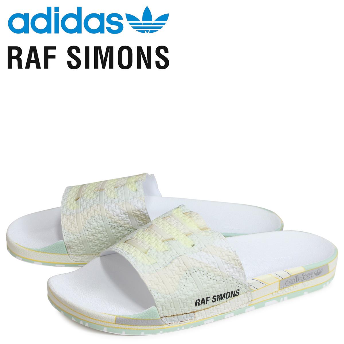 アディダス オリジナルス adidas Originals ラフシモンズ RAF SIMONS ピーチ アディレッタ サンダル シャワーサンダル ピーチツリー メンズ RS PEACH ADILETTE PEACHTREE コラボ ベージュ EE7957