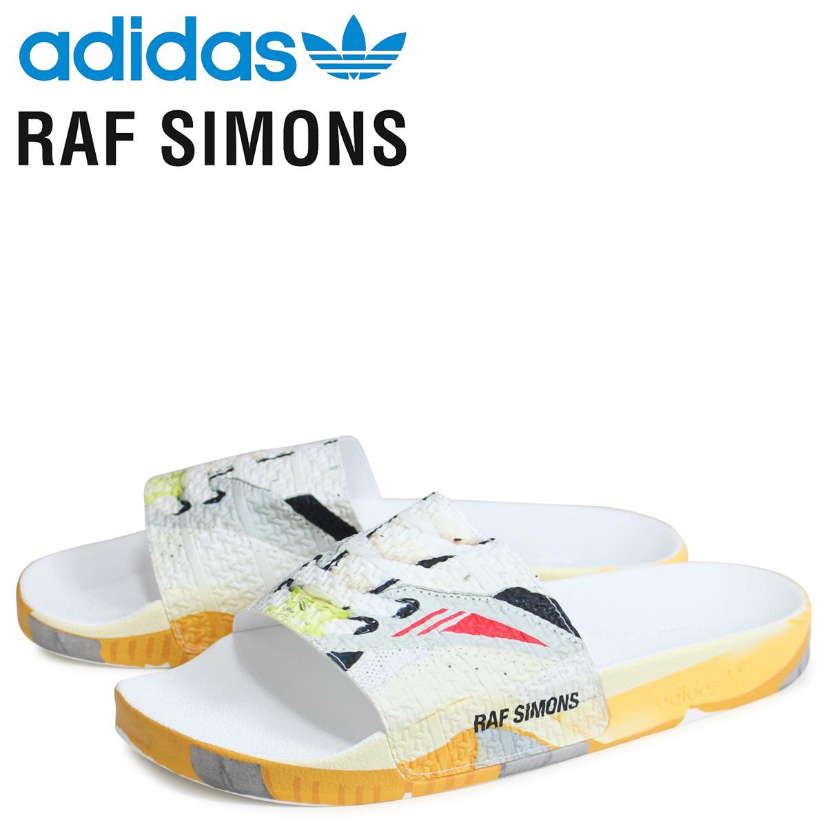 アディダス オリジナルス adidas Originals ラフシモンズ RAF SIMONS トーション アディレッタ サンダル シャワーサンダル メンズ RS TORSION ADILETTE コラボ ホワイト 白 EE7958