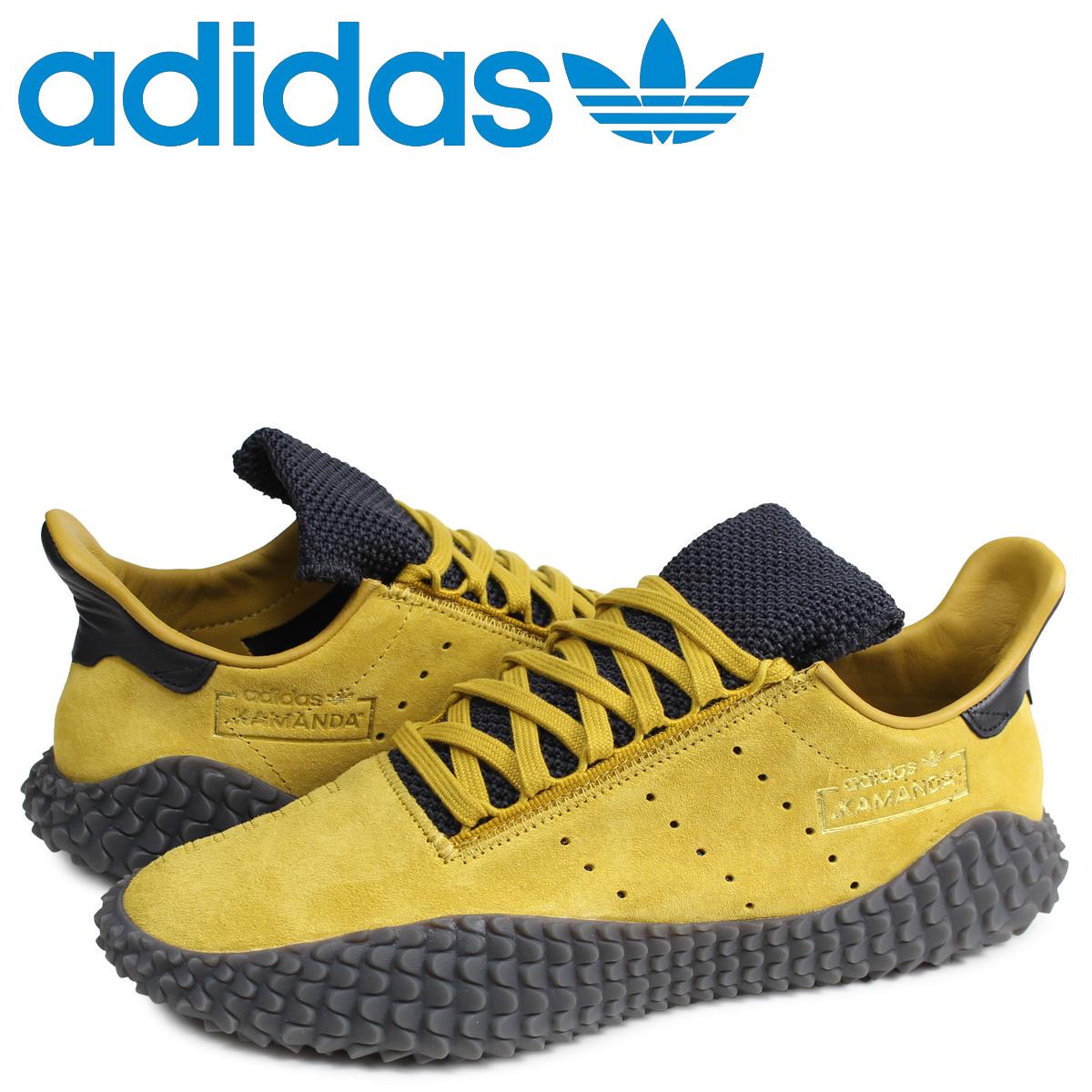 アディダス オリジナルス adidas Originals カマンダ スニーカー メンズ KAMANDA イエロー G27712