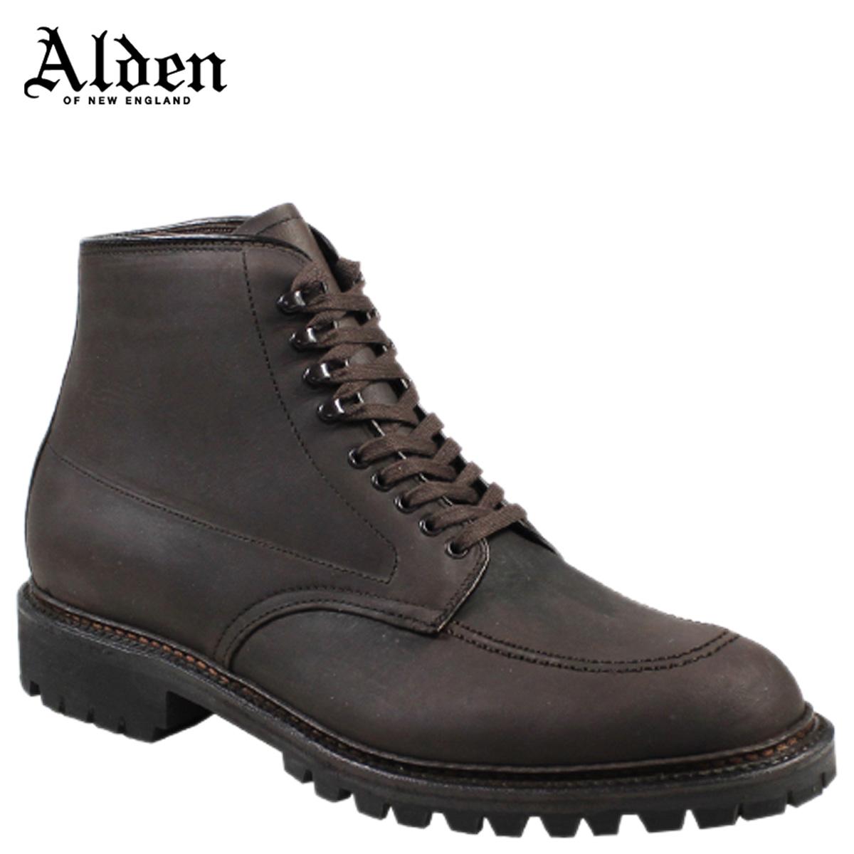 ALDEN オールデン インディー ブーツ メンズ KUDU INDY BOOT HIGH TOP BLUCHER Dワイズ 404