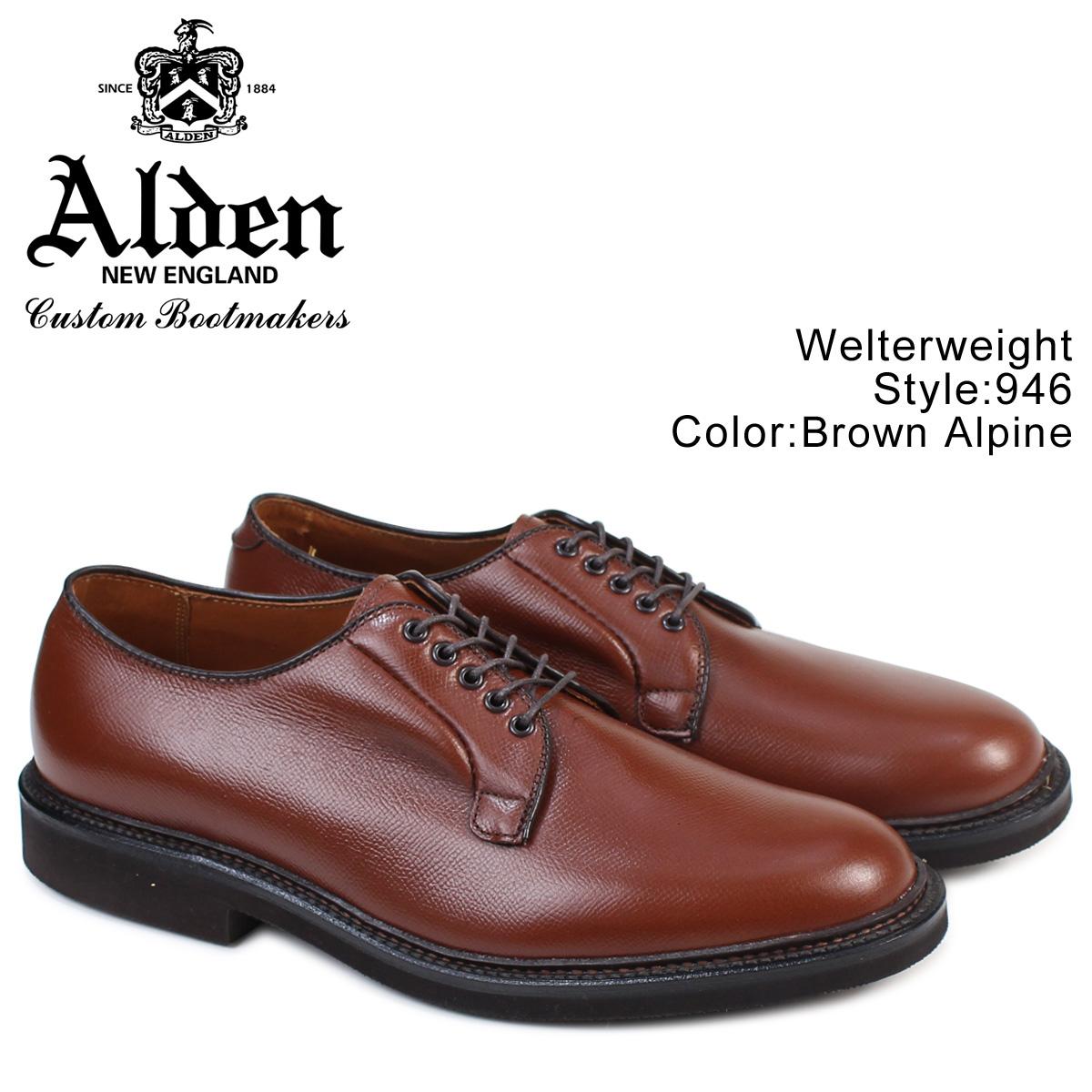 ALDEN オールデン シューズ メンズ WELTERWEIGHT Dワイズ 946