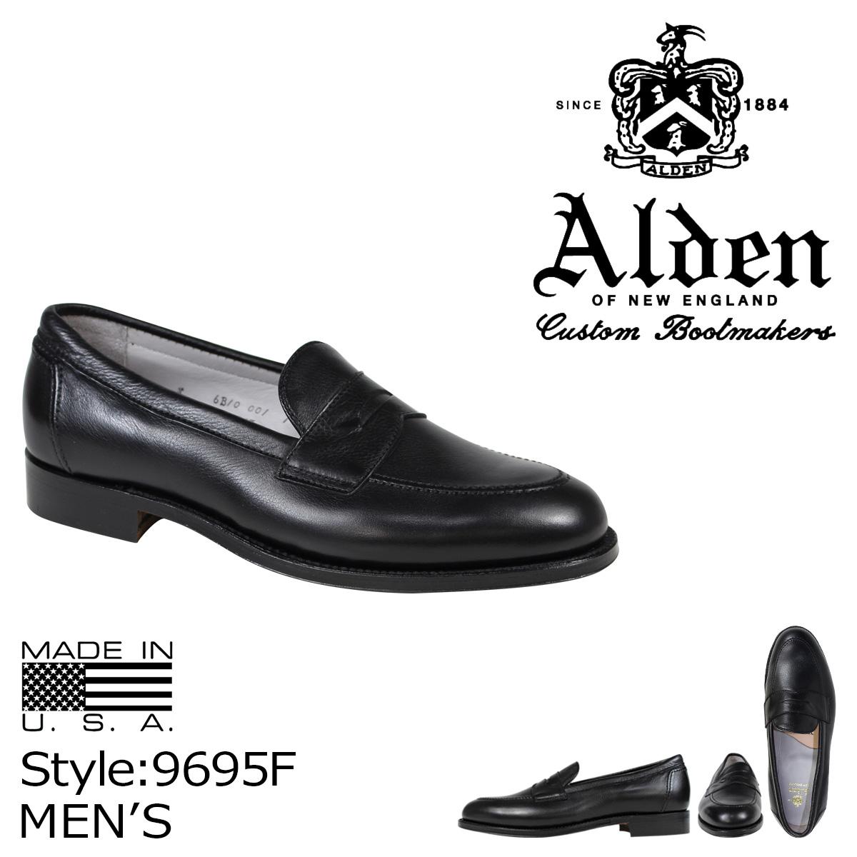 ALDEN オールデン ローファー シューズ メンズ PENNY LOAFER Dワイズ 9695F