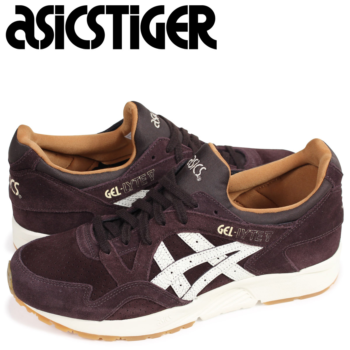 reputable site edfe2 2b845 ASICS tiger asics Tiger gel light 5 sneakers GEL-LYTE V H8E4L-2900 men brown