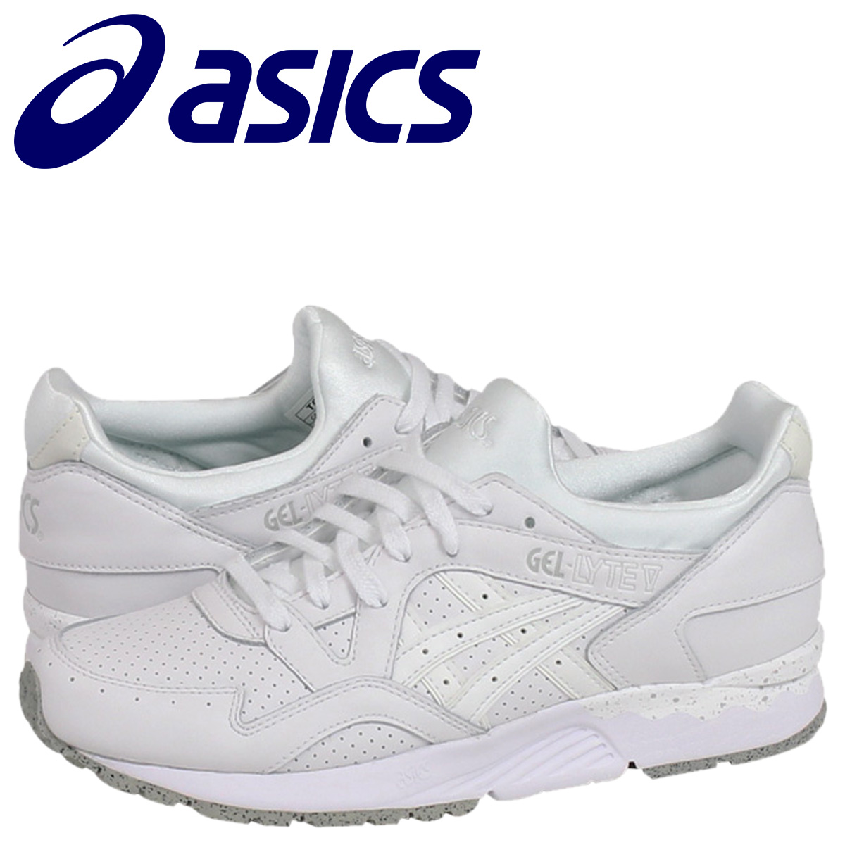 ee0e9b359845 ASICS asics mens Womens GEL-LYTE 5 sneakers differeces TQ5X 4L-0101 white   7 23 new in stock