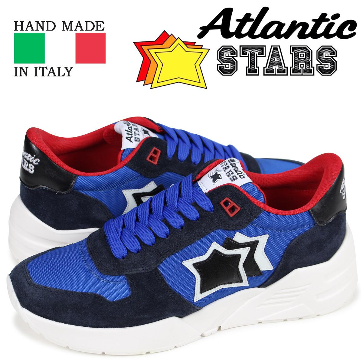 アトランティックスターズ メンズ スニーカー Atlantic STARS マーズ MARS AN-SN12 ブルー