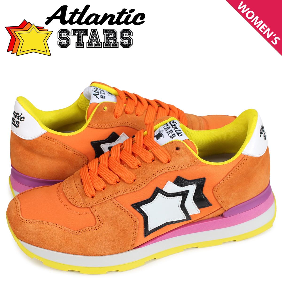 アトランティックスターズ レディース スニーカー Atlantic STARS ベガ VEGA ARA-82F オレンジ