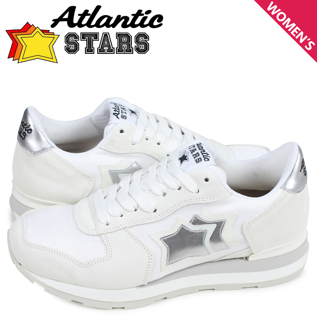 アトランティックスターズ Atlantic STARS ベガ スニーカー レディース VEGA ホワイト 白 BA-86B [予約 5月上旬 追加入荷予定]