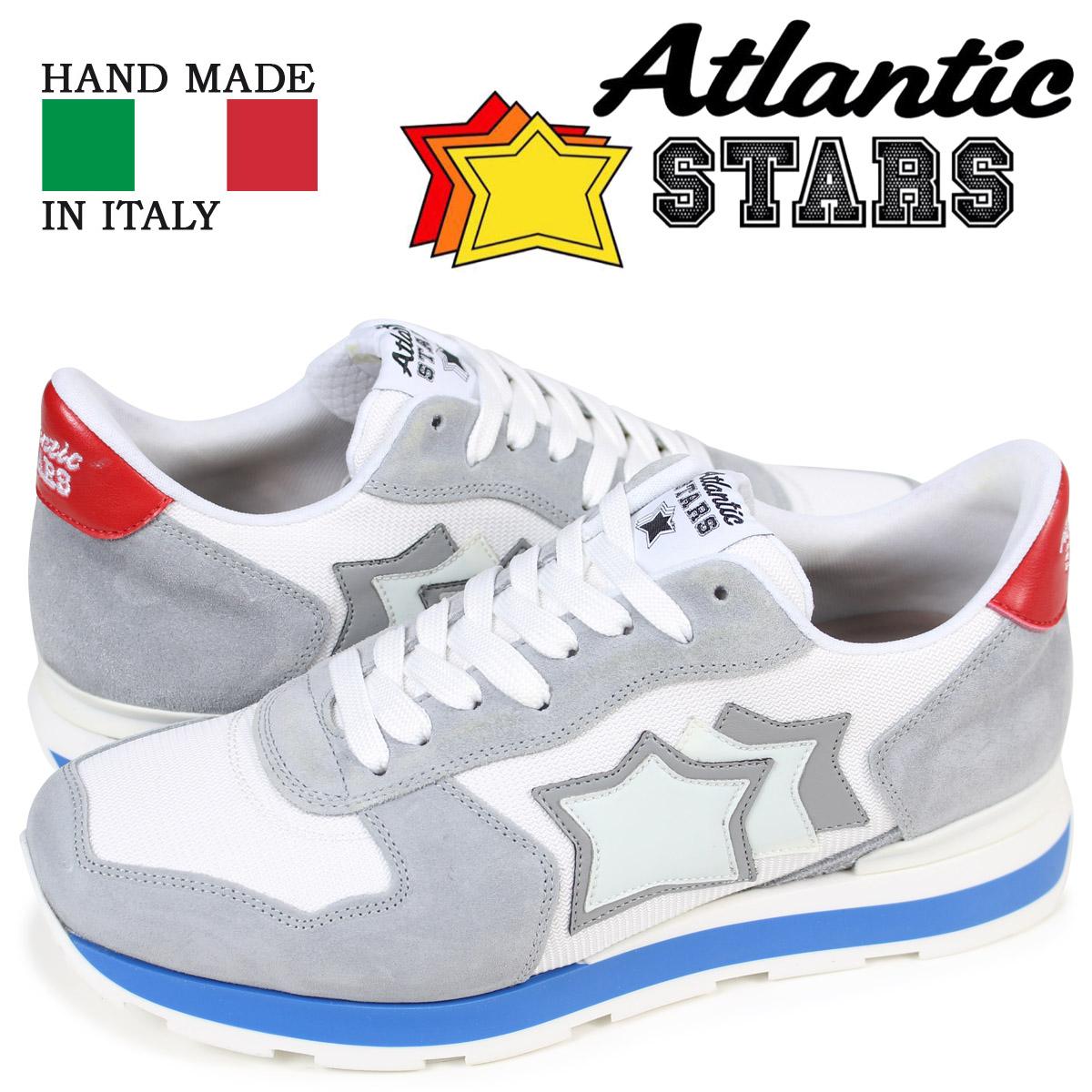 【最大2000円OFFクーポン】 アトランティックスターズ メンズ スニーカー Atlantic STARS アンタレス ANTARES BAB-34B ライトグレー [4/3 再入荷]
