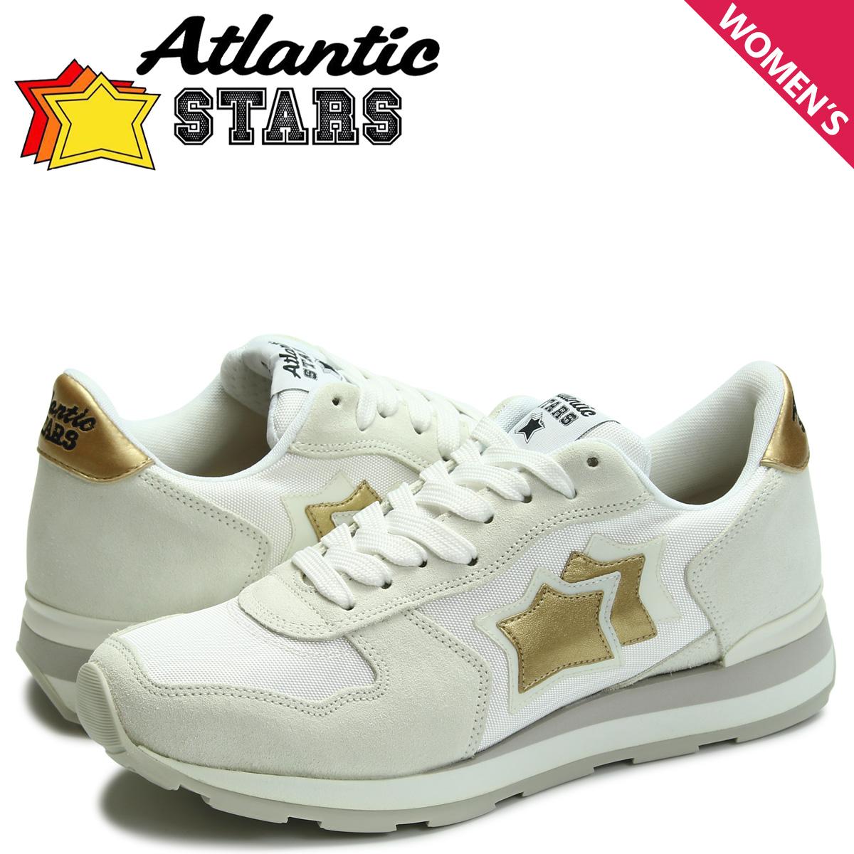 アトランティックスターズ Atlantic STARS ベガ スニーカー レディース VEGA ホワイト BO-86B [4/7 追加入荷]