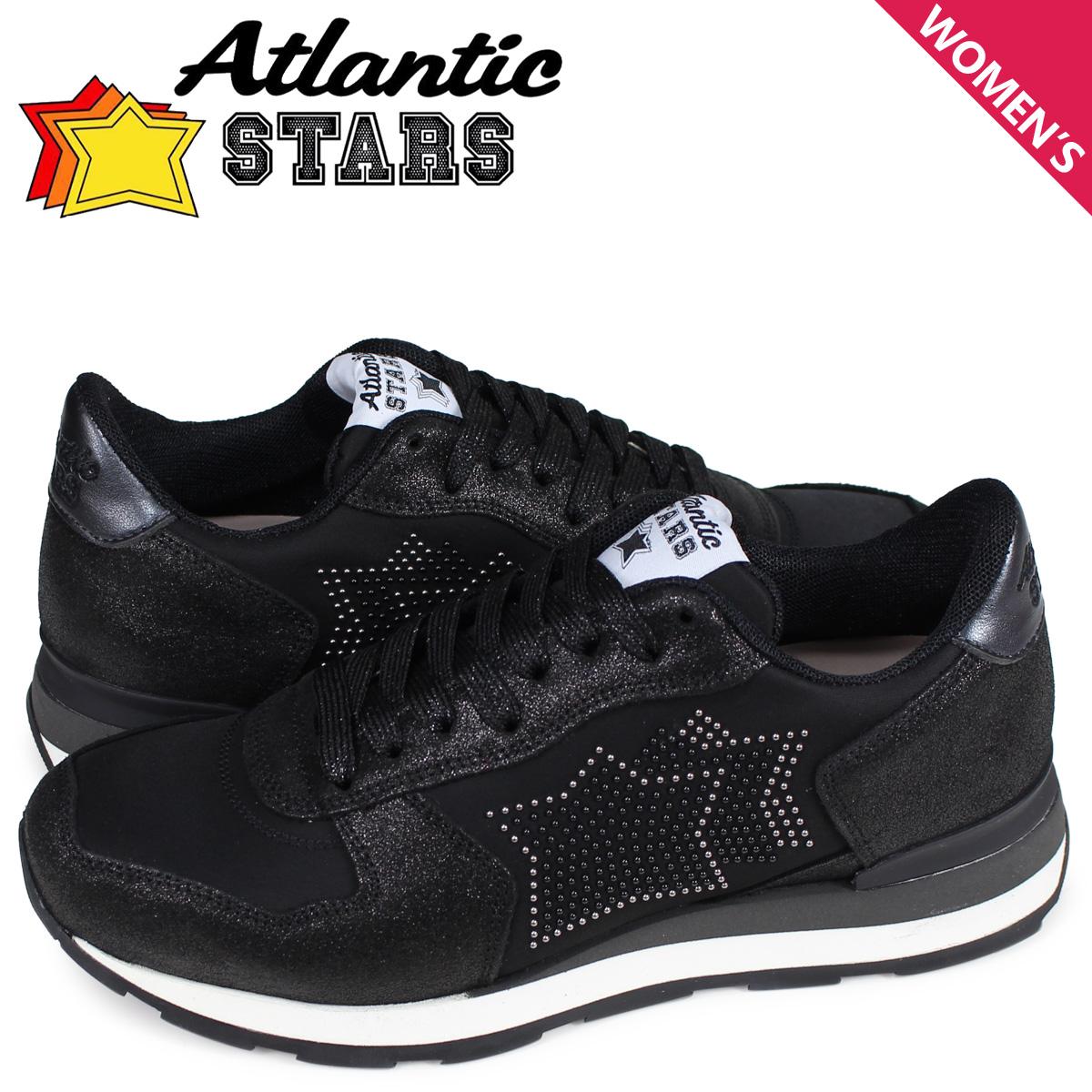アトランティックスターズ Atlantic STARS ベガ スニーカー レディース VEGA ブラック 黒 BO1-81N