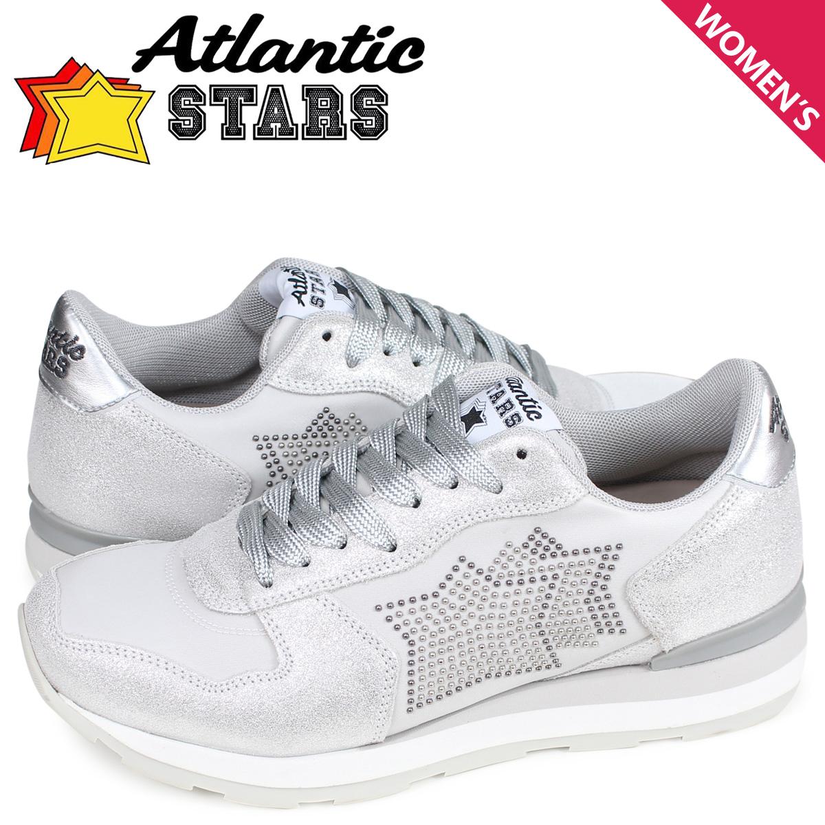 アトランティックスターズ Atlantic STARS ベガ スニーカー レディース VEGA ライト グレー BO2-86GR [4/13 再入荷]