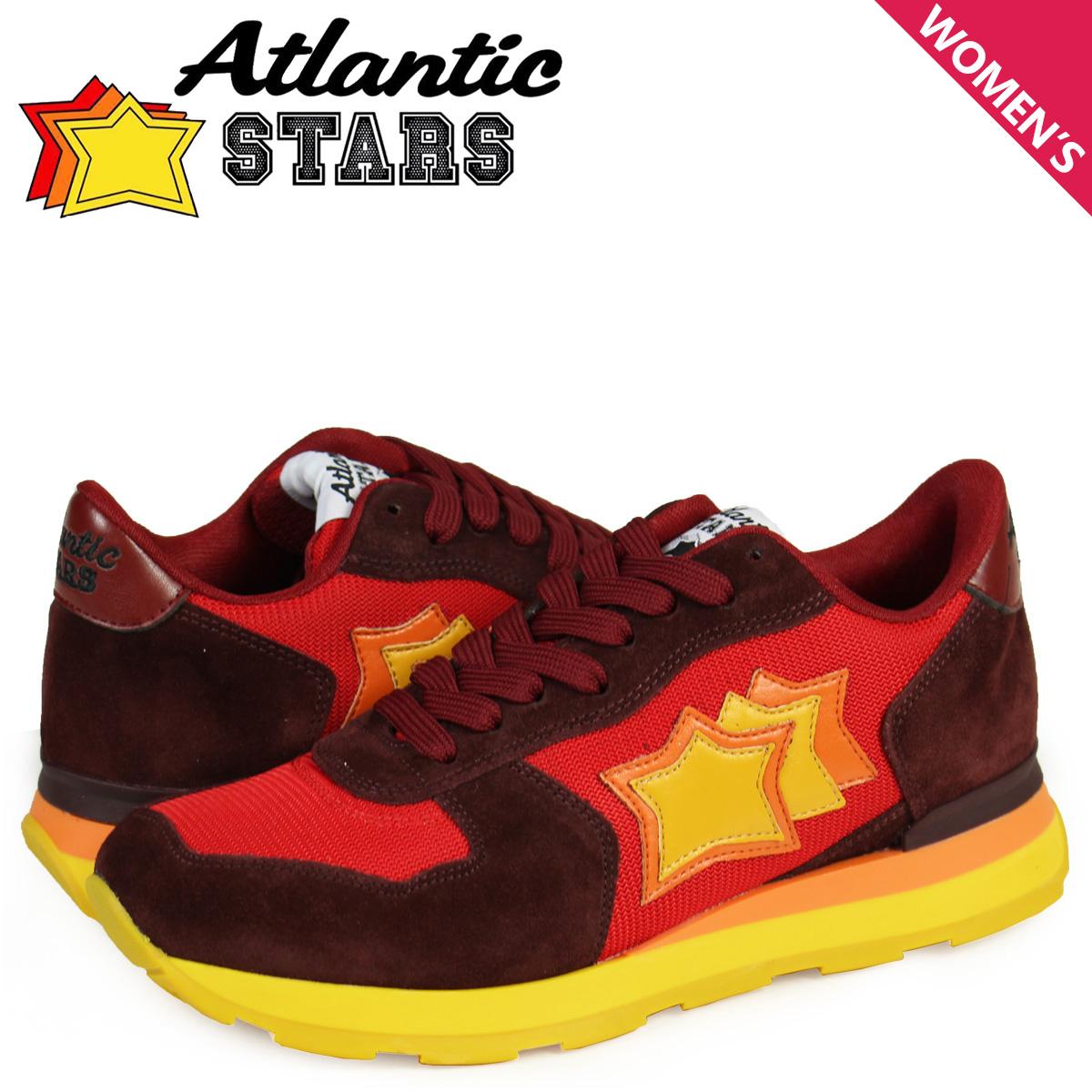 アトランティックスターズ Atlantic STARS ベガ スニーカー レディース VEGA BRA-46BO レッド
