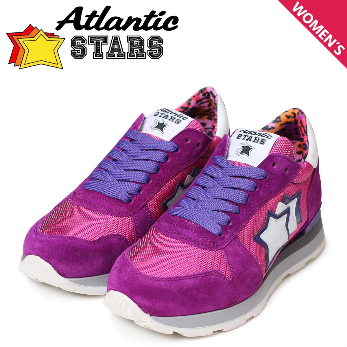 【お買い物マラソンSALE】 アトランティックスターズ Atlantic STARS ジェンマ スニーカー レディース GEMMA CFG-63VI ピンク パープル