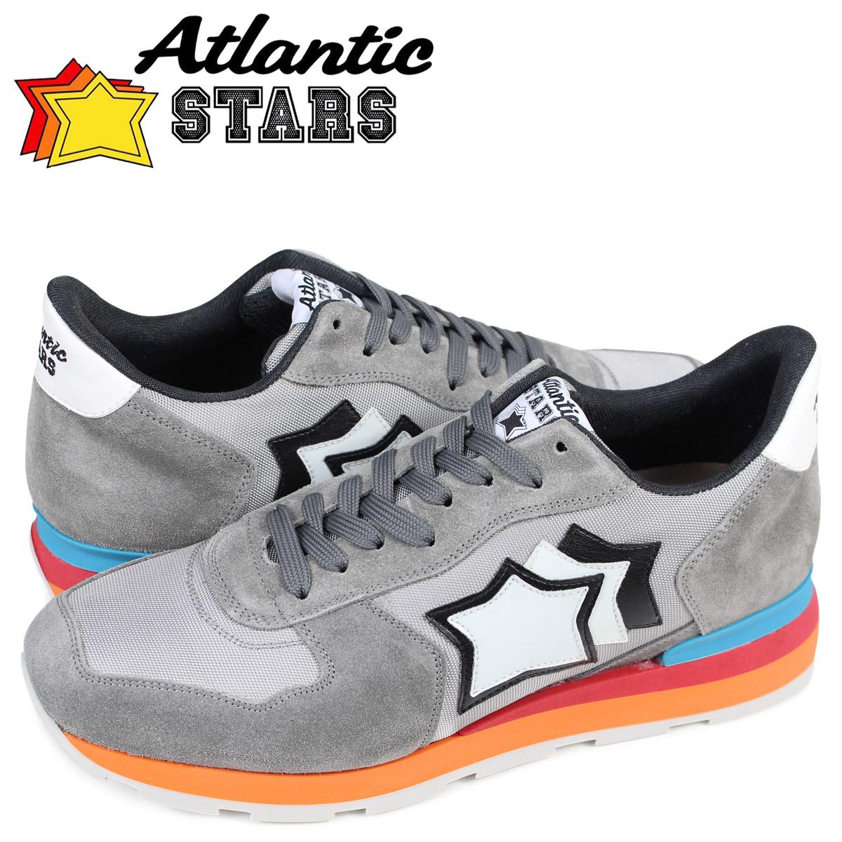 アトランティックスターズ メンズ スニーカー Atlantic STARS アンタレス ANTARES CS-85C グレー [4/7 追加入荷]