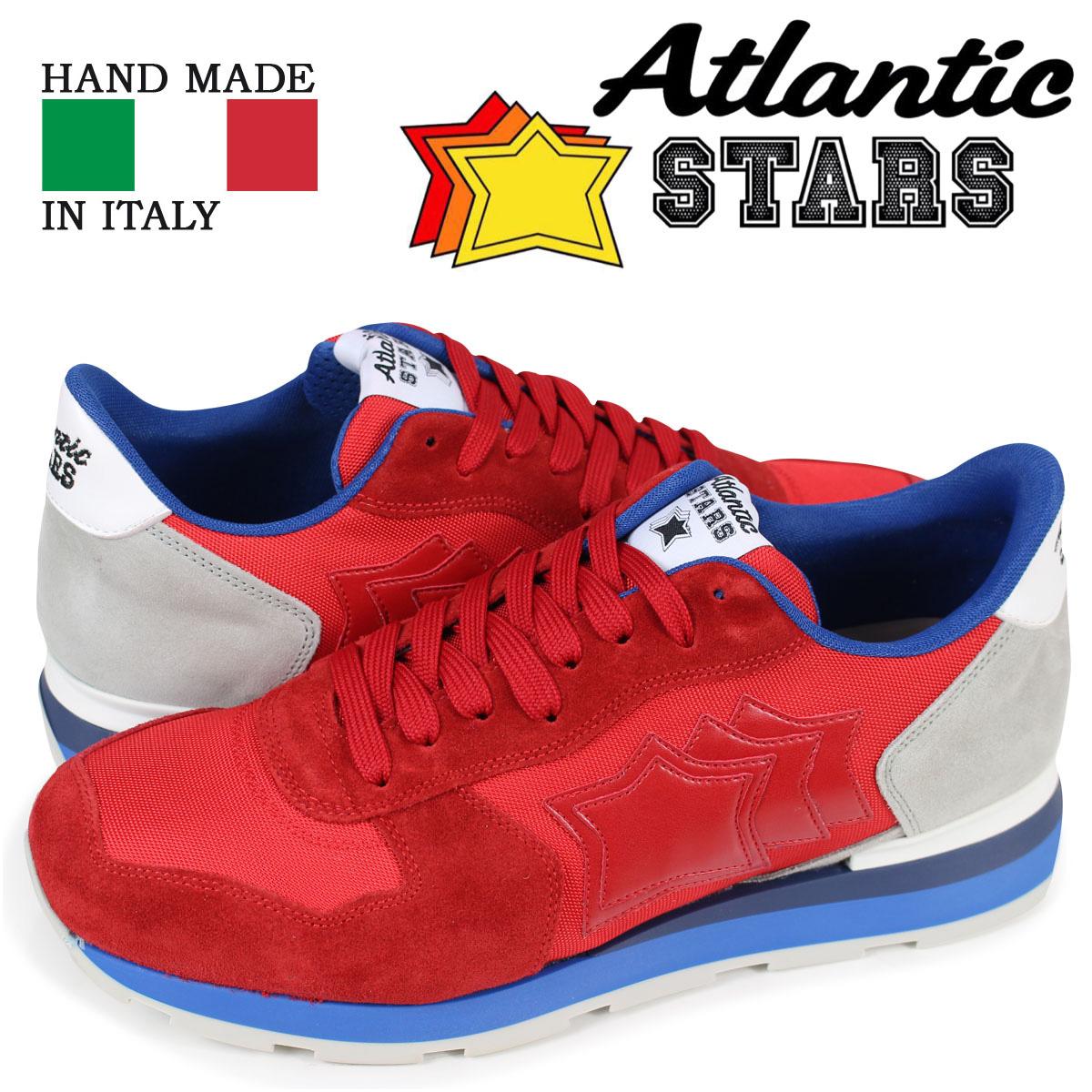送料無料 アトランティックスターズ STARS メンズ スニーカー Atlantic STARS アンタレス ANTARES ANTARES Atlantic FBR-83B レッド, デイショップ:f560b584 --- paulogalvao.com