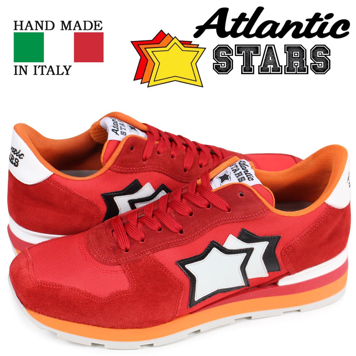 アトランティックスターズ メンズ スニーカー Atlantic STARS アンタレス ANTARES FR-85B レッド