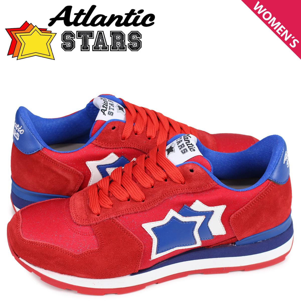アトランティックスターズ Atlantic STARS ベガ スニーカー レディース VEGA レッド FUR-19A