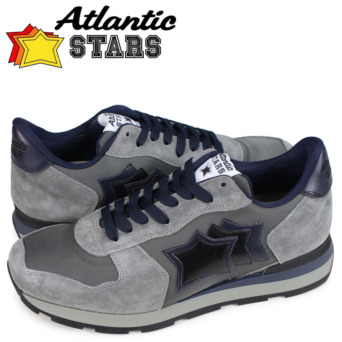 【お買い物マラソンSALE】 アトランティックスターズ Atlantic STARS アンタレス スニーカー メンズ ANTARES GA-06N グレー