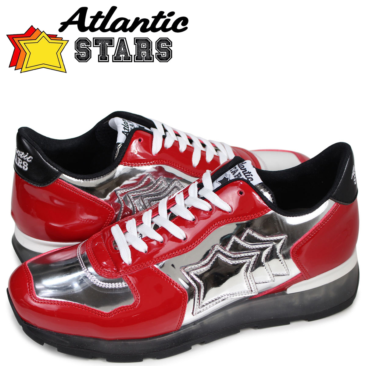 アトランティックスターズ Atlantic STARS アンタレス スニーカー メンズ ANTARES GAR-32B レッド