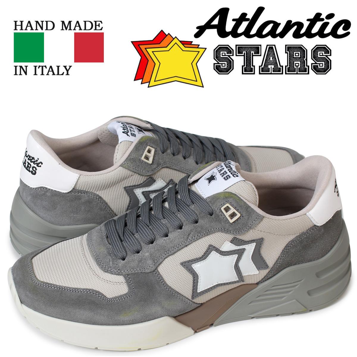 アトランティックスターズ メンズ スニーカー Atlantic STARS マーズ MARS GA-SN09 グレー 【決算セール 返品不可】