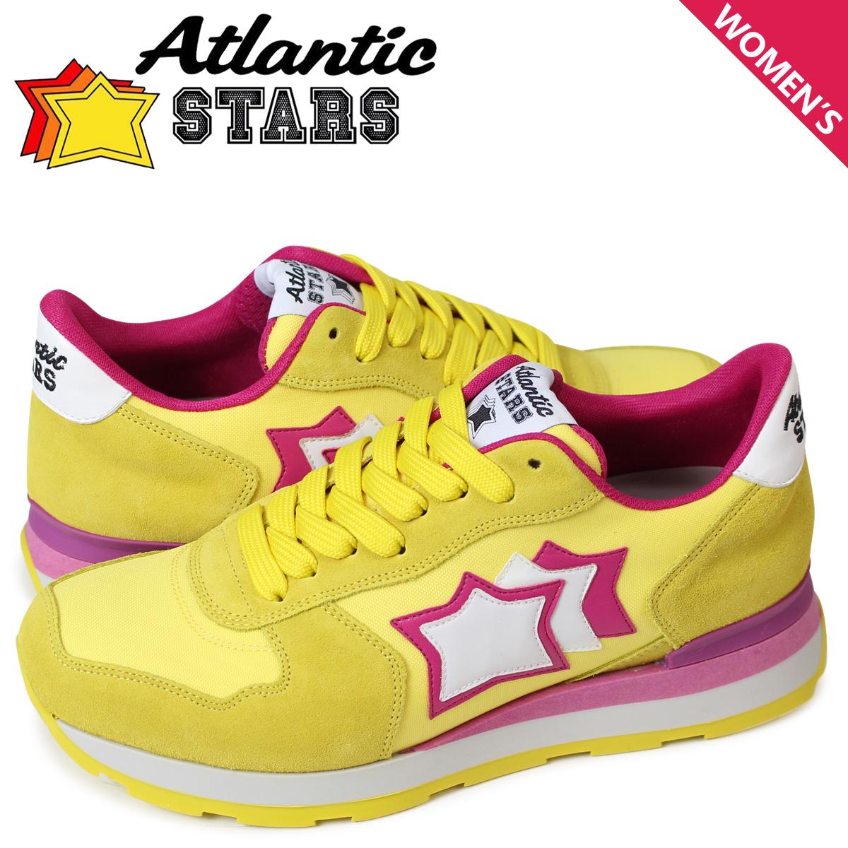 【お買い物マラソンSALE】 アトランティックスターズ Atlantic STARS ベガ スニーカー レディース VEGA GG-82F イエロー