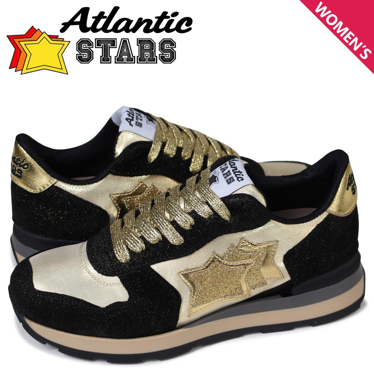 アトランティックスターズ レディース スニーカー Atlantic STARS ベガ VEGA GO-79N ゴールド [予約 5月上旬 追加入荷予定]