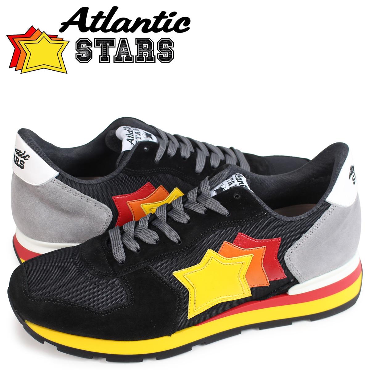 アトランティックスターズ Atlantic STARS アンタレス スニーカー メンズ ANTARES ブラック NCB-89B