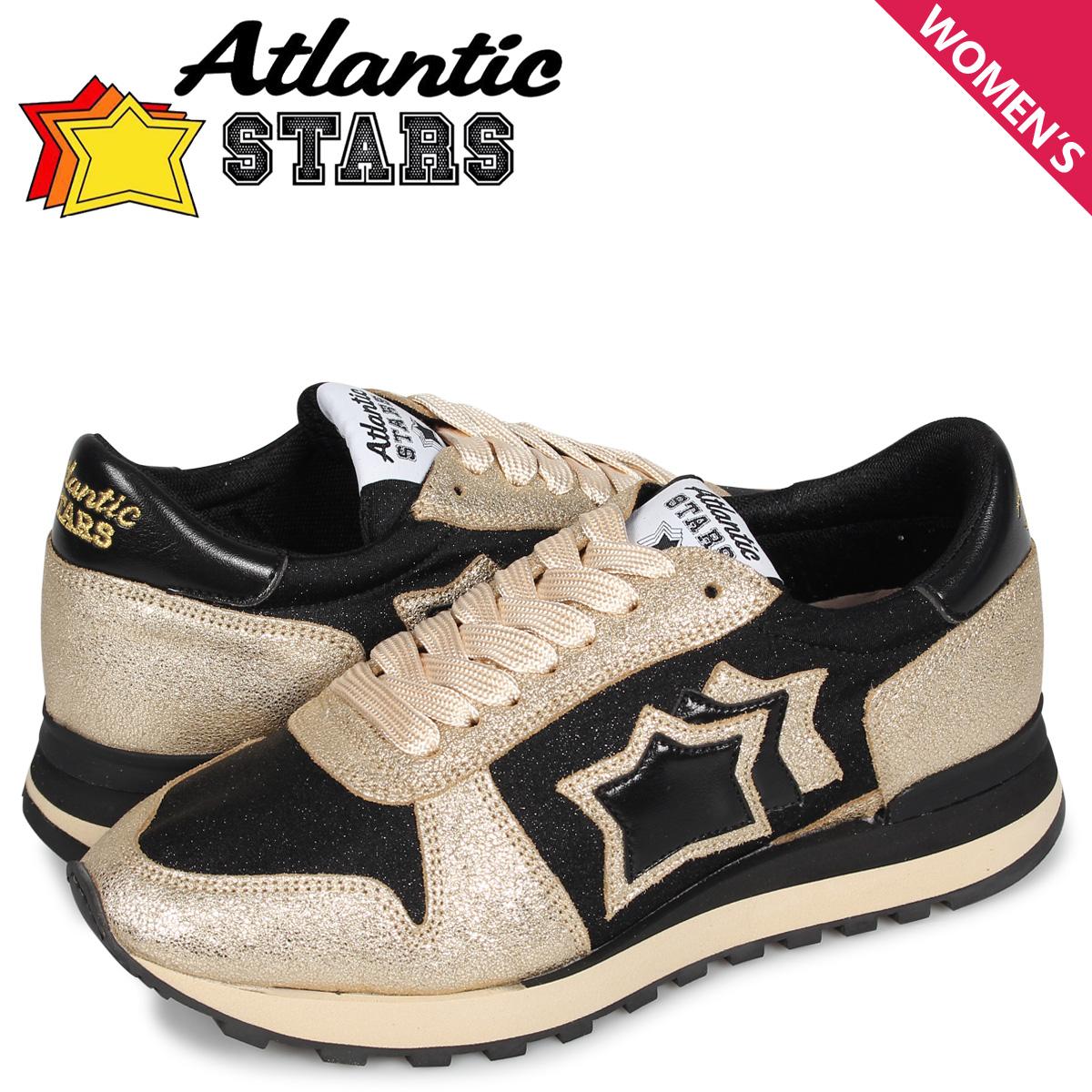 【最大2000円OFFクーポン】 アトランティックスターズ Atlantic STARS アレナ スニーカー レディース ALHENA ゴールド NCH-NY-NBNN