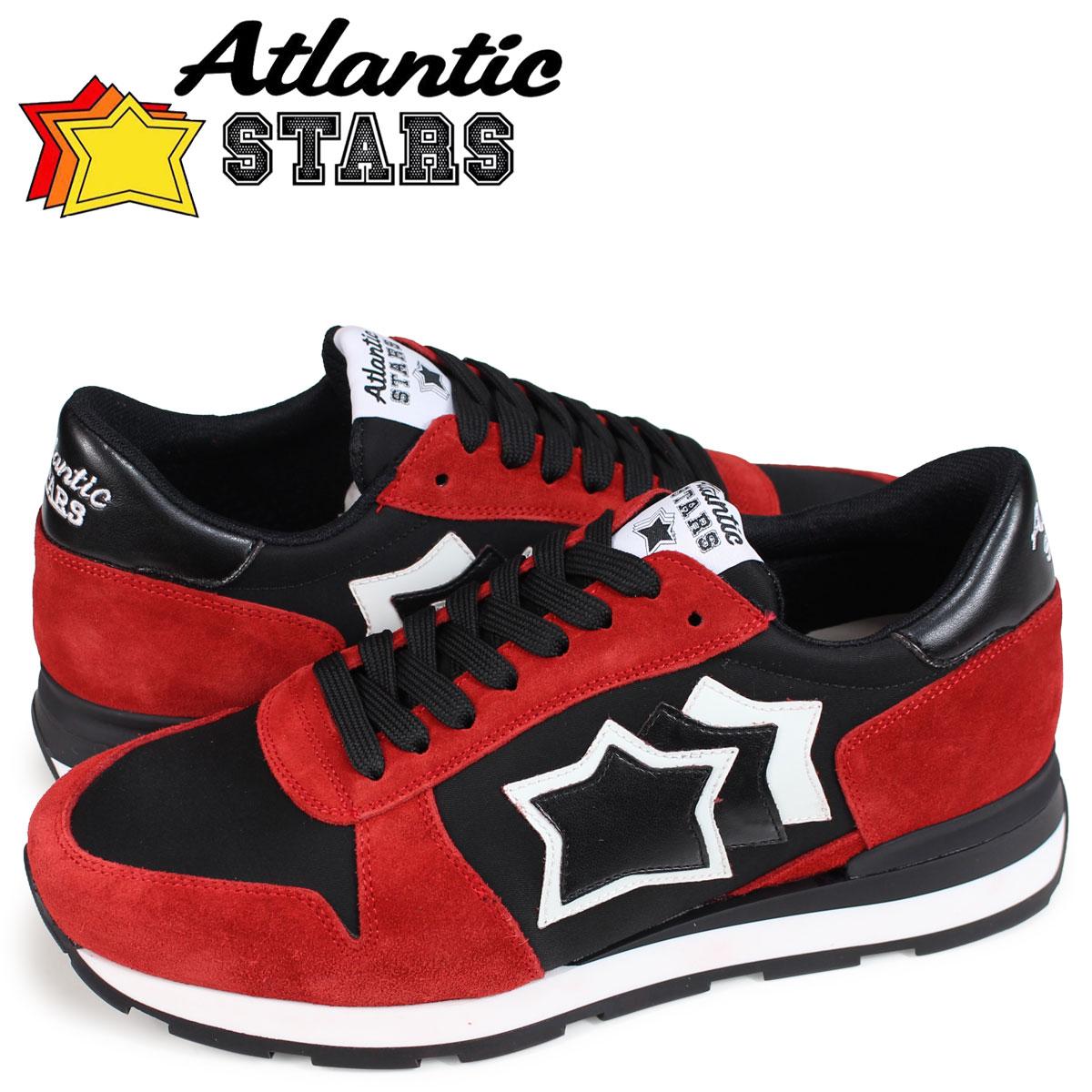 【最大2000円OFFクーポン】 アトランティックスターズ Atlantic STARS シリウス スニーカー メンズ SIRIUS NFN-10N レッド