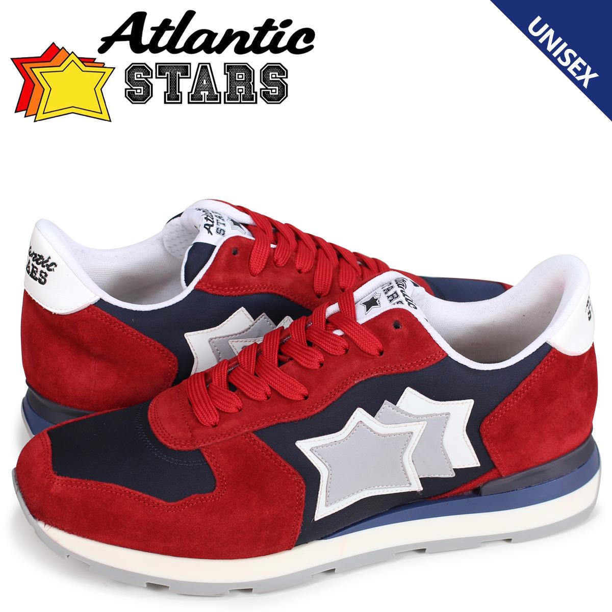 アトランティックスターズ メンズ スニーカー Atlantic STARS アンタレス ANTARES NFS-09NY レッド [7/13 新入荷] 【決算セール 返品不可】