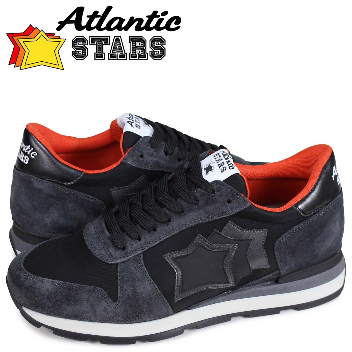 アトランティックスターズ メンズ スニーカー Atlantic STARS シリウス SIRIUS NGA-81N ブラック