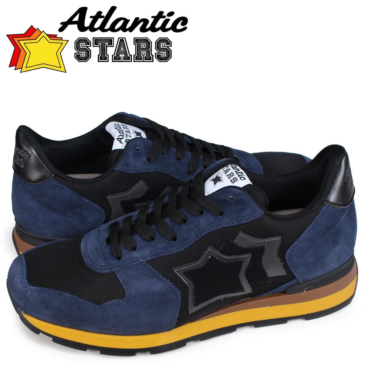 アトランティックスターズ Atlantic STARS アンタレス スニーカー メンズ ANTARES NHN-03N ブラック