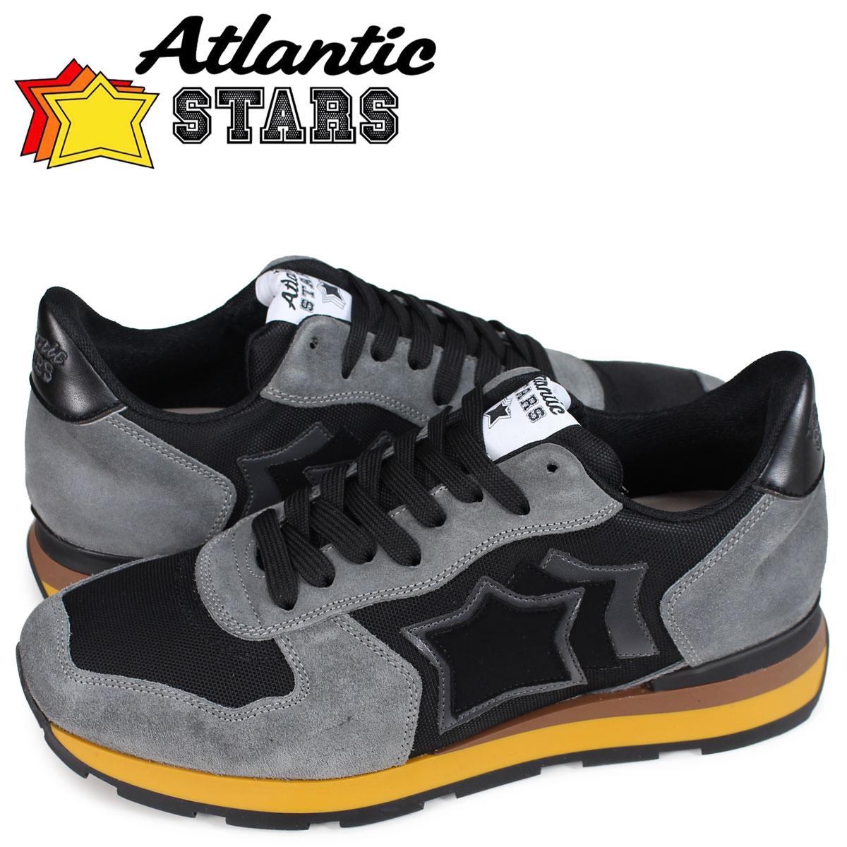 アトランティックスターズ Atlantic STARS アンタレス スニーカー メンズ ANTARES NPN-03N ブラック