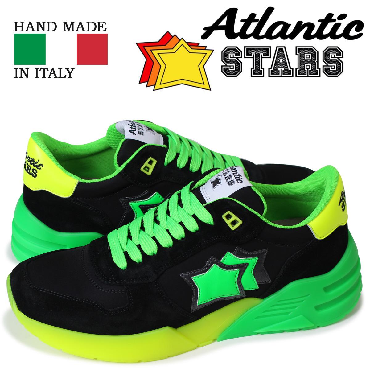 アトランティックスターズ メンズ スニーカー Atlantic STARS マーズ MARS NV-SN04 ブラック 【決算セール 返品不可】