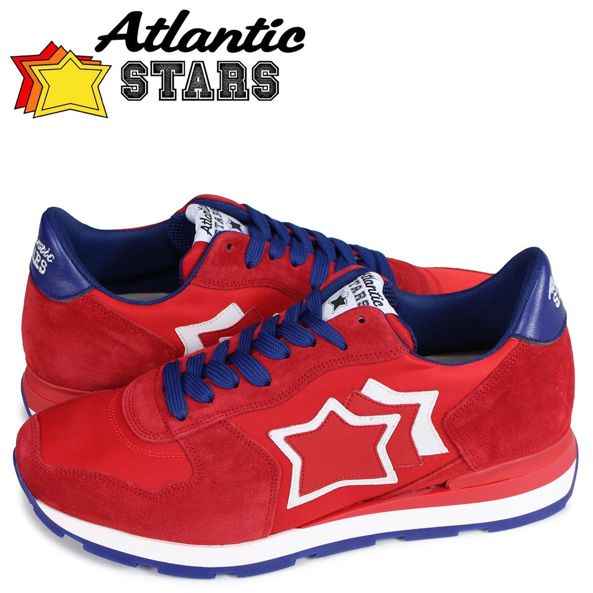 アトランティックスターズ Atlantic STARS アンタレス スニーカー メンズ ANTARES レッド RBR-14R [4/13 追加入荷]