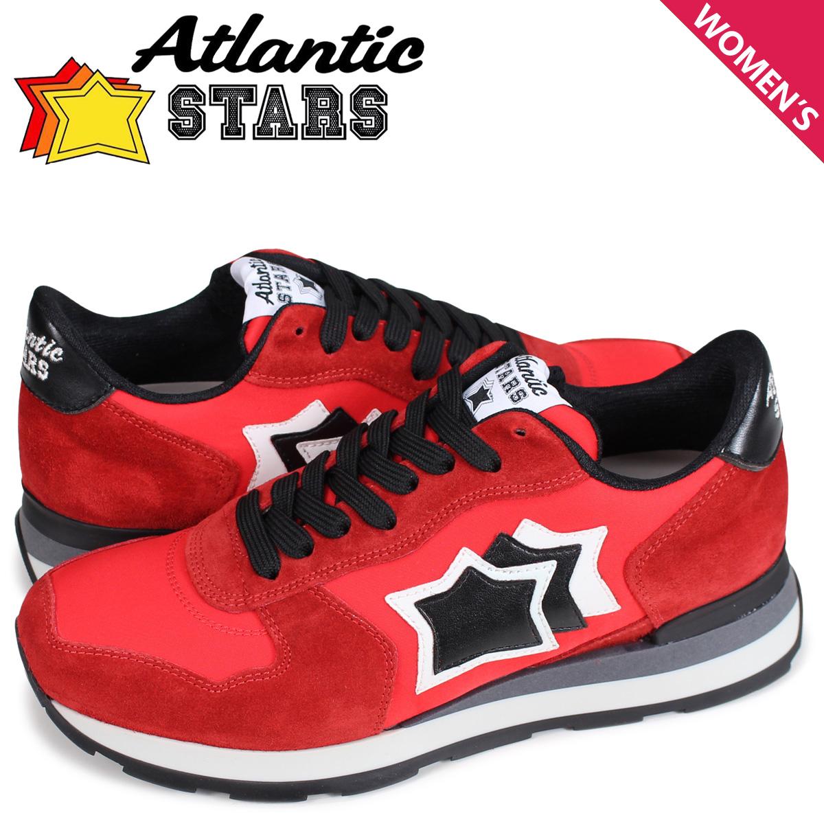 アトランティックスターズ レディース スニーカー Atlantic STARS ベガ VEGA RFN-81N レッド