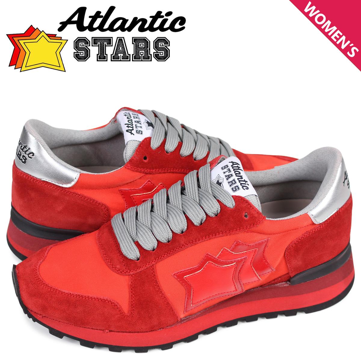 アトランティックスターズ Atlantic STARS アレナ スニーカー レディース ALHENA RFNYNRRN レッド