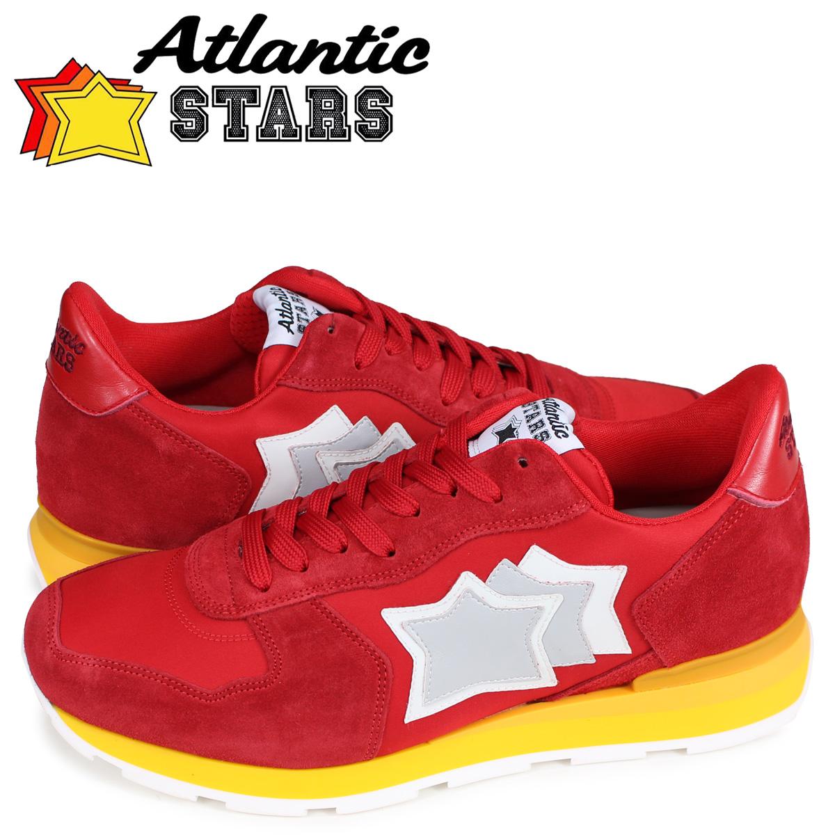 アトランティックスターズ Atlantic STARS アンタレス スニーカー メンズ ANTARES レッド RRR-15GS