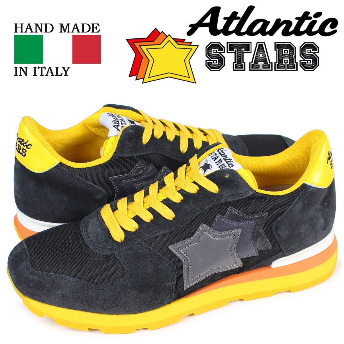 【最大2000円OFFクーポン】 アトランティックスターズ スニーカー メンズ Atlantic STARS アンタレス ANTARES SB-46B ブラック