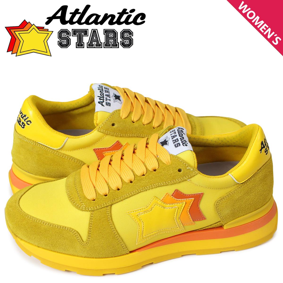 アトランティックスターズ Atlantic STARS ジェンマ スニーカー レディース GEMMA SG46O イエロー