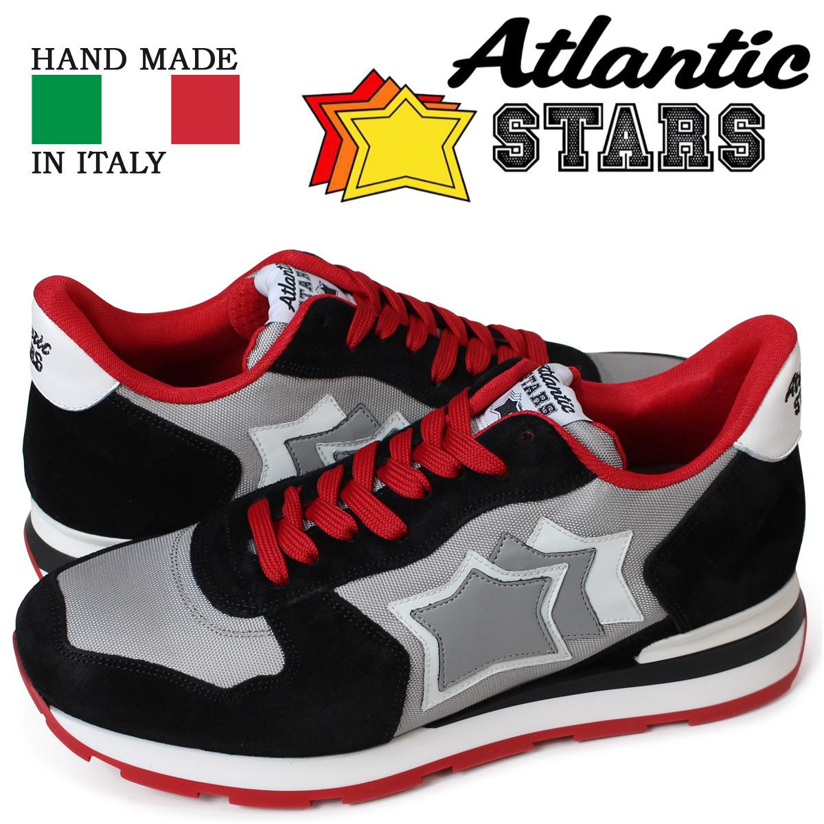 アトランティックスターズ メンズ スニーカー Atlantic STARS アンタレス ANTARES SN-26B ブラック