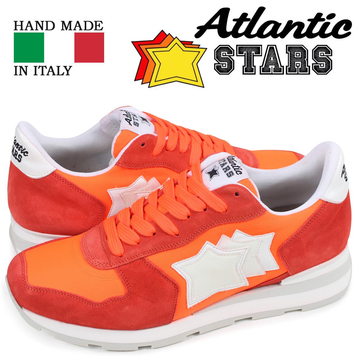 アトランティックスターズ メンズ スニーカー Atlantic STARS アンタレス ANTARES SRF-86B オレンジ