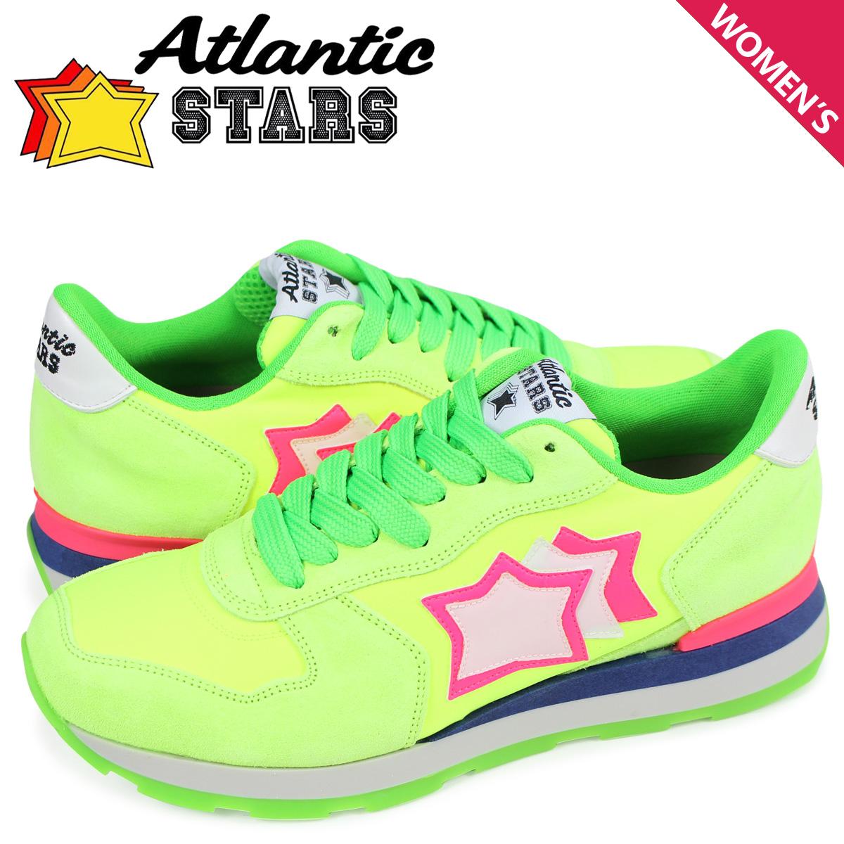 アトランティックスターズ レディース スニーカー Atlantic STARS ベガ VEGA UVS-87FF グリーン