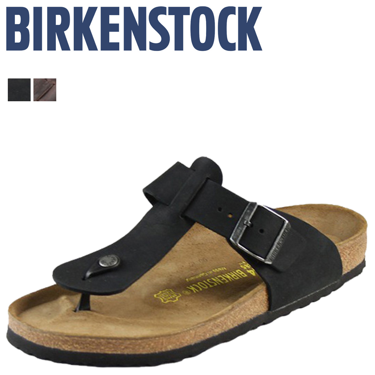 Birkenstock-BIRKENSTOCK Medina MEDINA [normal width leather] [regular] 2 color Womens mens unisex