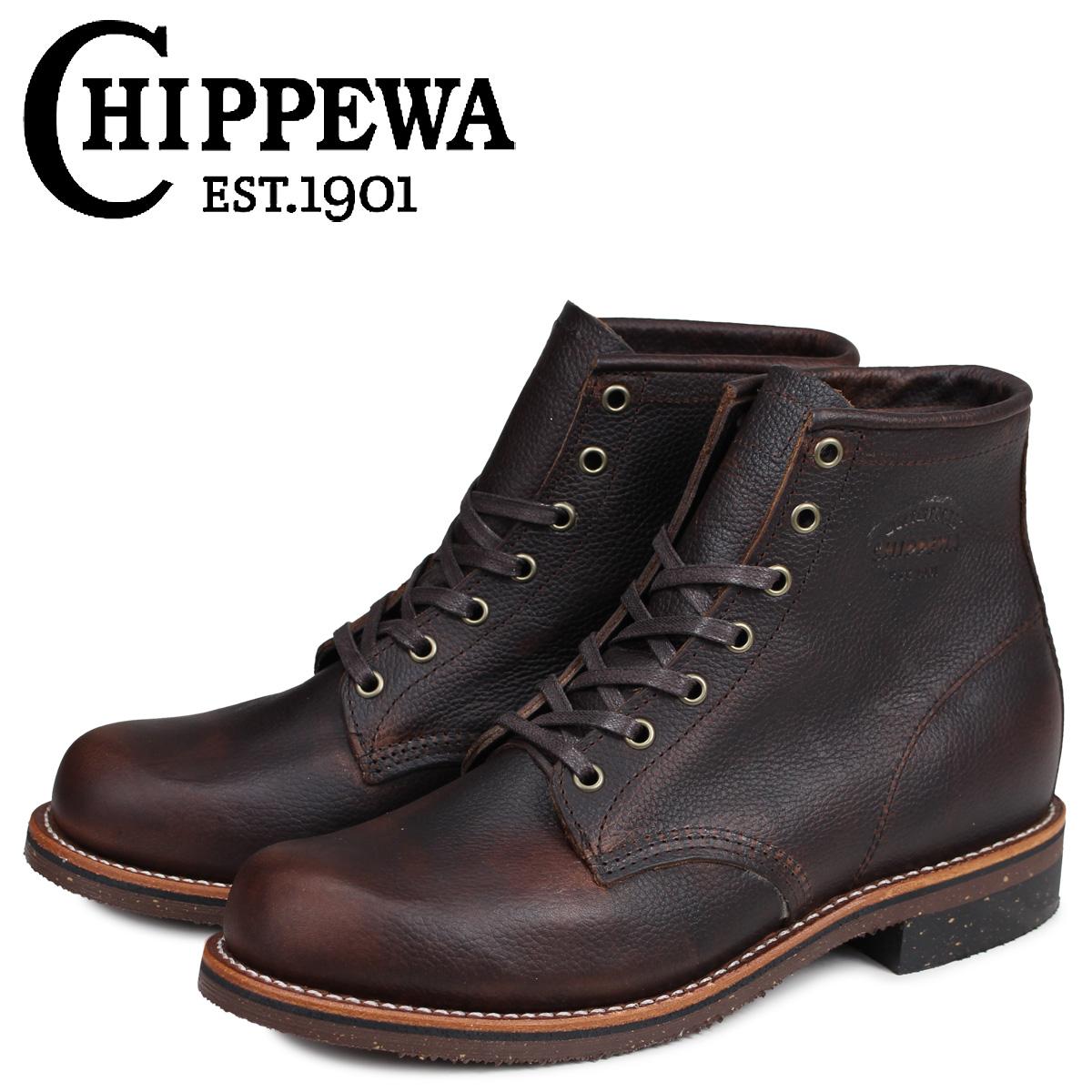チペワ 6INCH CHIPPEWA ブーツ ブーツ 6インチ サービス 6INCH SERVICE BOOT 1901G25 1901G25 Dワイズ ダークブラウン メンズ, SUPER ISM:4ed208c8 --- ww.thecollagist.com