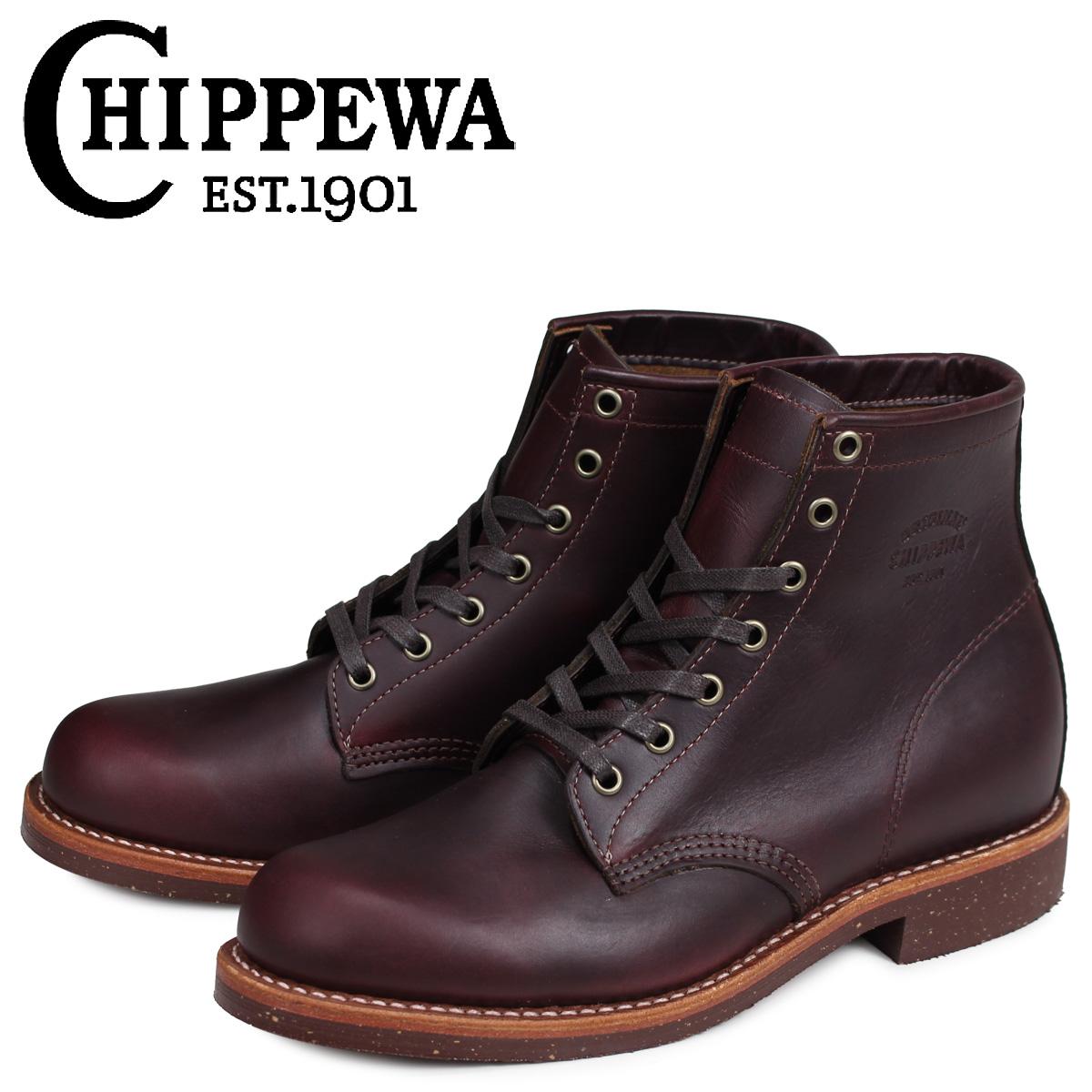 チペワ CHIPPEWA ブーツ 6インチ サービス 6INCH SERVICE BOOT 1901M25 Dワイズ コードバン メンズ [3/30 追加入荷]