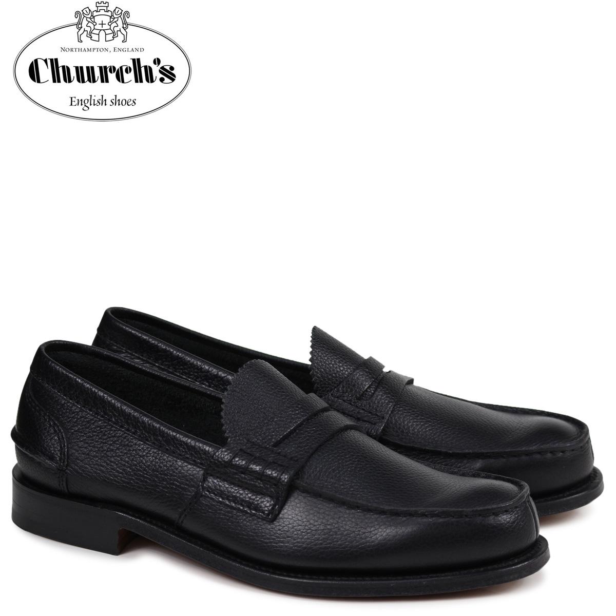 チャーチ Church's 靴 ローファー メンズ PEMBREY LOAFERS ブラック EDB003