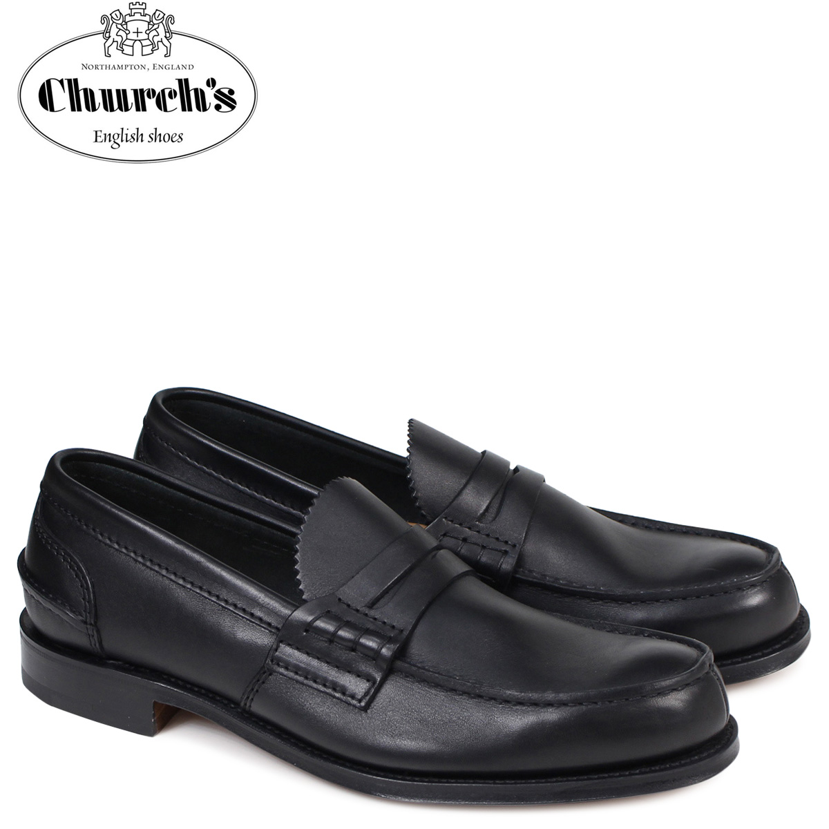 SneaK Online Shop | Rakuten Global Market: Church shoes Church's loafer men PEMBREY LOAFERS leather black EDB003 [load planned Shinnyu load in reservation product 12/21 containing]